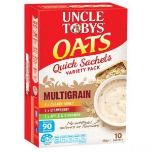 Uncle Tobys Multigrain Quick Oats Variety Sachet