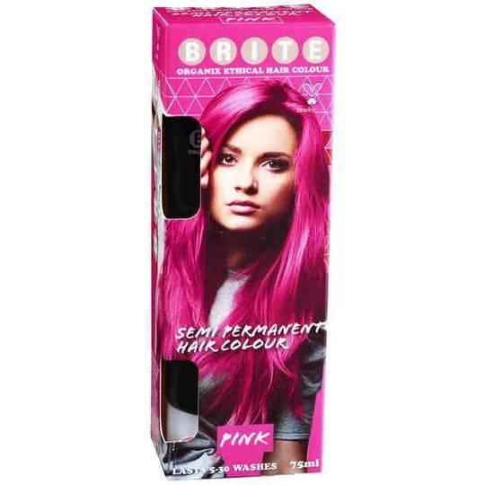 Brite Organix Semi Permanent Hair Colour Pink