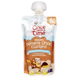 Once Upon A Time 6 Months Banana Chocolate Custard