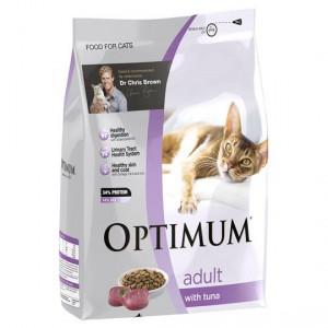 Optimum Adult Cat Food With Tuna