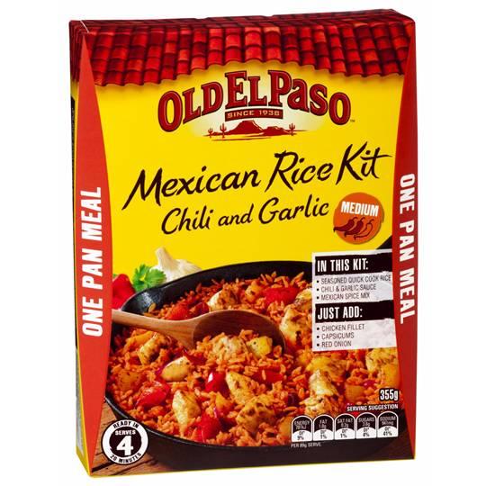 Old El Paso Chili & Garlic Mexican Rice Kit