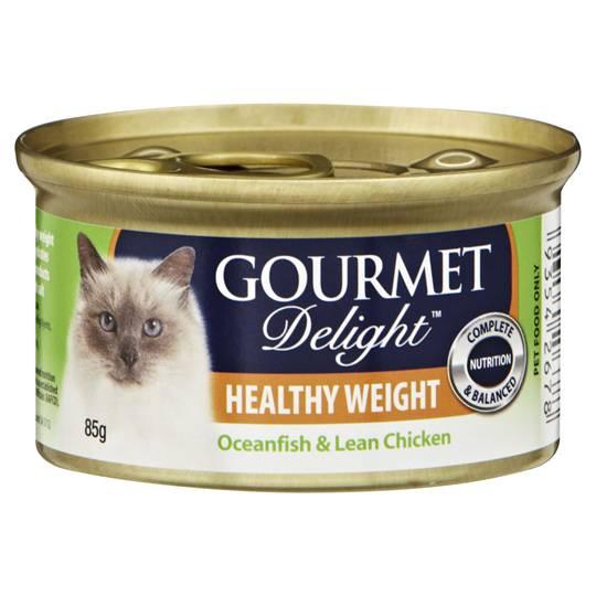 Gourmet Delight Adult Cat Food Healthy Weight