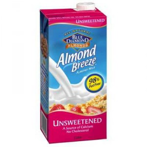 Almond Breeze Unsweetened Almond Milk