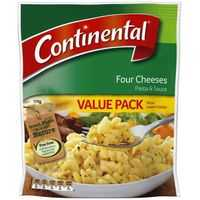 Continental Pasta & Sauce Four Cheeses