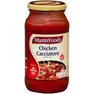 Masterfoods Simmer Sauce Chicken Cacciatore