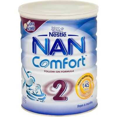 Nestle Nan Comfort Follow-on Formula Stage 2 6-12 Months