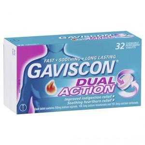 Gaviscon Heartburn Dual Action