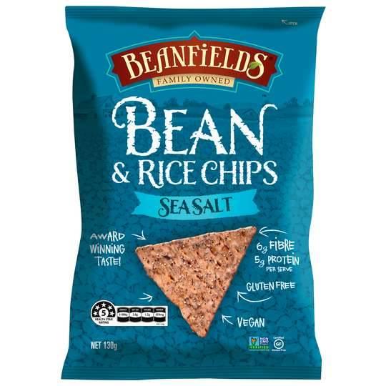 Beanfields Bean & Rice Chips Seasalt