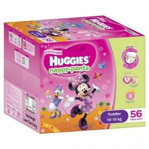 Huggies Nappy-pants Toddler Girl 10-15kgs Jumbo