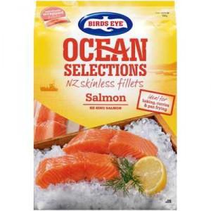 Birds Eye Ocean Selections Fillets Salmon