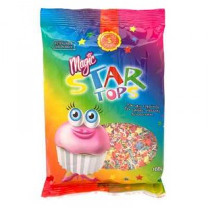 Dollar Sweets Sprinkles Magic Star Tops
