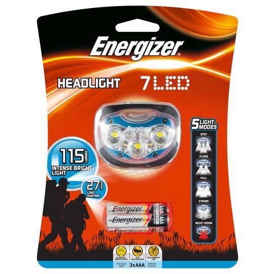 Energizer Flashlight 7 Led Headlight