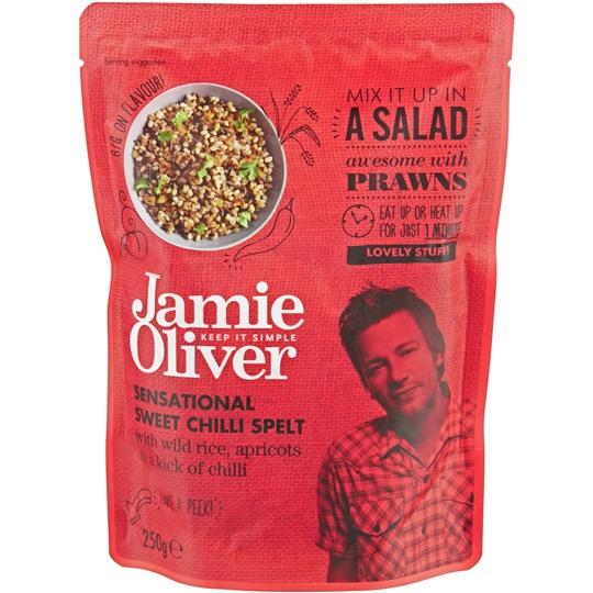Jamie Oliver Heat & Serve Sweet Chilli Spelt