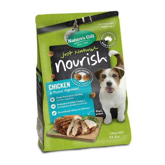 mom305544 reviewed Nature's Gift Adult Dog Food Chicken & Mixed Vegetables