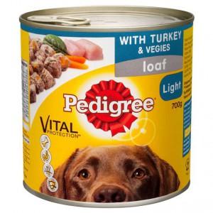 Pedigree Adult Dog Food Loaf Light Turkey Vegies Ratings Mouths