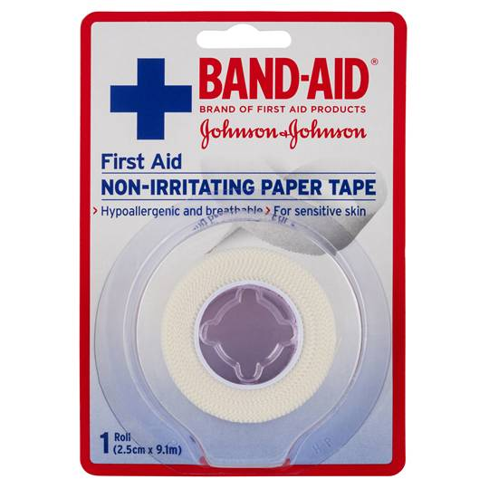 june11 reviewed Band-aid Fabric Strips First Aid Paper Tape