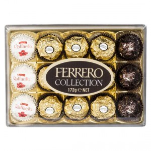 Ferrero Collection Chocolates T15 Rocher Rondnoir Raffaello Ratings