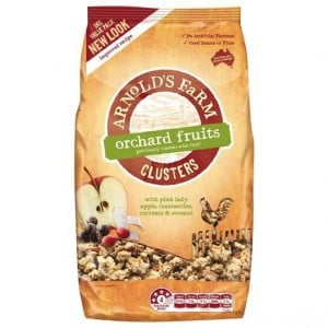 Arnolds Farm Muesli Toasted Clusters With Fruit