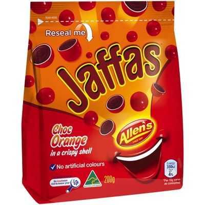 Selena reviewed Allen's Jaffas
