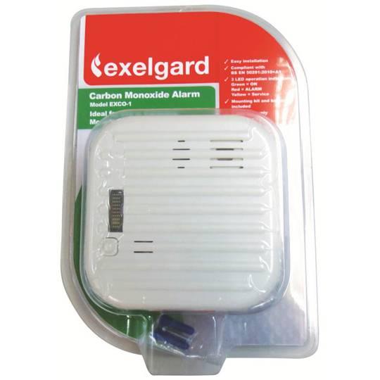 Exelgard Fire Safety Carbon Monoxide Alarm