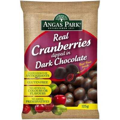 Angas Park Cranberries Dark Chocolate