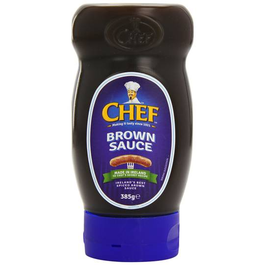 Chef Brown Sauce Squeezy