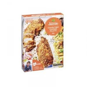 Created With Jamie Crumbed Chicken Crunchy Cajun Fillets