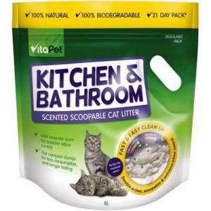 Vitapet Kitchen & Bathroom Odour Control Litter