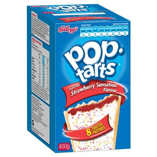 Kellogg's Strawberry Sensation Pop Tarts Ratings - Mouths ...