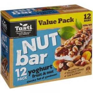 Tasti Nut Bar Yoghurt Fruit & Nut