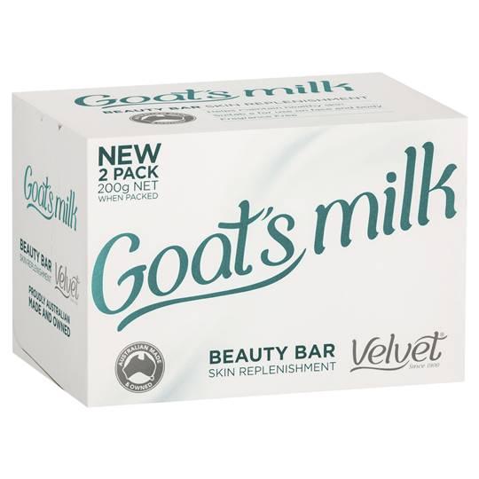 Velvet Bar Soap Goat's Milk Beauty Bar