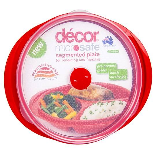 Decor Microsafe Segmented Plate