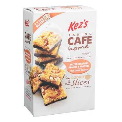 Kez's Cookies Salted Caramel & Pretzel