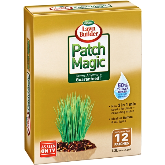 mom390666 reviewed Scotts Garden Lawn Builder Patch Magic