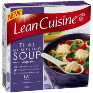 Lean Cuisine Microwave Soup Thai Dumpling