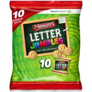 Arnott's Letter Jumbles Multipack