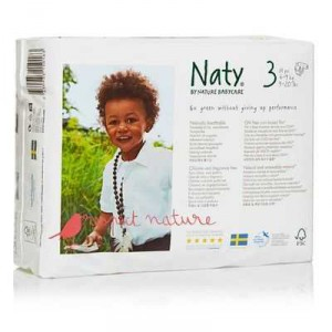 Naty By Nature Babycare Nappies Size 3