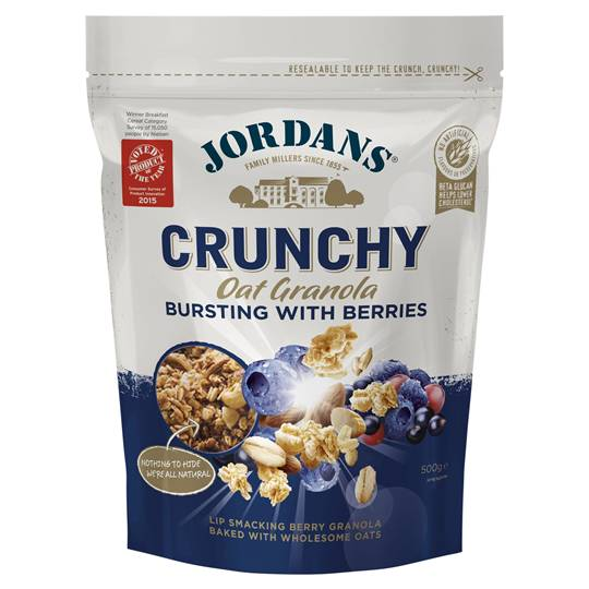 Jordans Bursting With Berries Crunchy Oat Granola