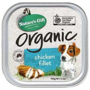 Nature's Gift Adult Dog Food Organic Chicken