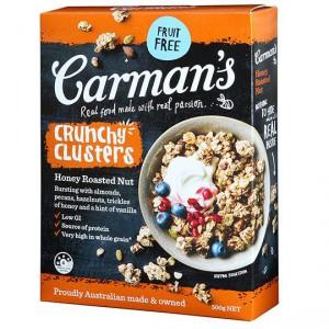 Carman's Honey Roasted Nut Crunchy Clusters