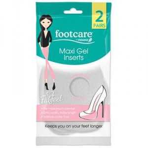 Footcare Foot Care Maxi Gel Inserts