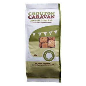 Crouton Caravan Dressing Olive Oil And Salt