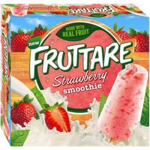 Streets Fruttare Fruit Smoothie Strawberry