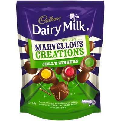 Cadbury Dairy Milk Marvellous Creations Jelly Zingers