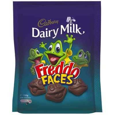 Cadbury Dairy Milk Freddo Faces Bites