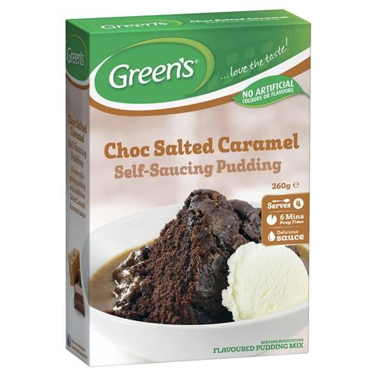 Greens Self Saucing Pudding Mix Choc Salted Caramel ...