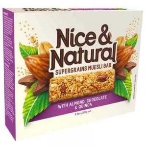 Nice & Natural Supergrain Bar Almond Choco