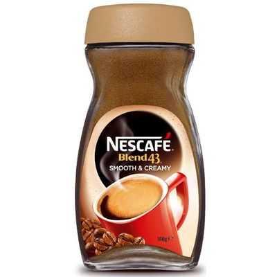 Nescafe Blend 43 Smooth & Creamy Coffee
