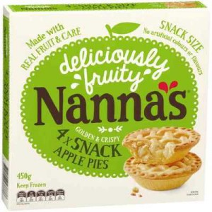 Nanna's Multipack Pies & Desserts Apple Pie