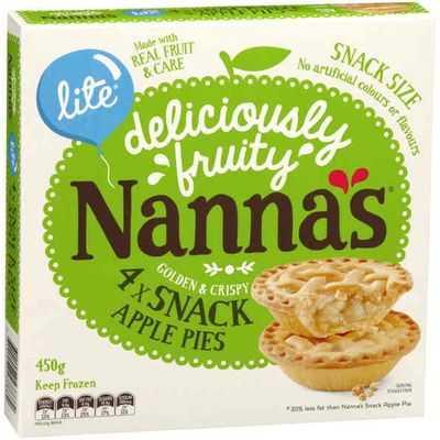 Nanna's Multipack Pies & Desserts Lite Apple Pie
